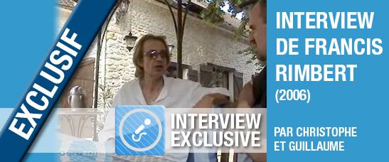 Interview de Francis Rimbert par aerozone (2006)