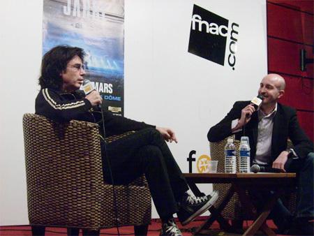 Rencontre avec Jean Michel Jarre à la Fnac de Marseille (2010)