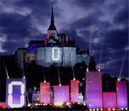 JEAN-MICHEL JARRE IN CONCERT AT MONT ST MICHEL
