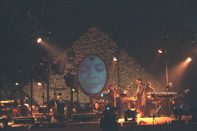JEAN-MICHEL JARRE GIVES NEW YEAR 2000 CONCERT