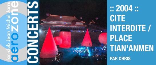 2004 – Concert d'ouverture de l'année de la France en Chine