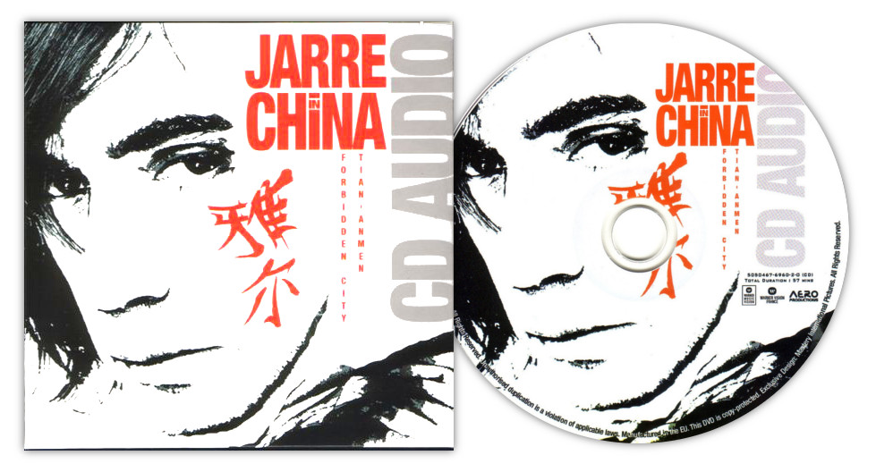Jean Michel Jarre-Jarre In China-CD