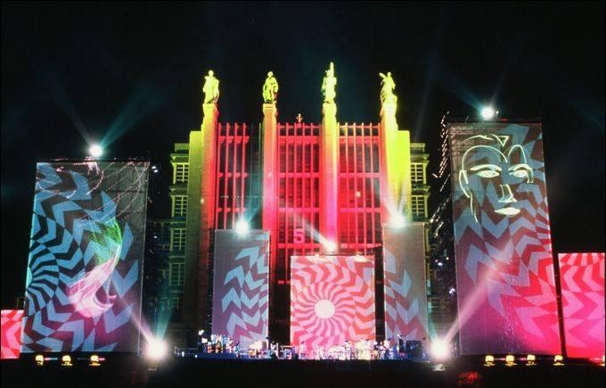 Palais des Expositions au Heysel à Bruxelles 1993 europe en concert
