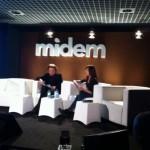 Conférence de Jean Michel Jarre au Midem de Cannes 2014
