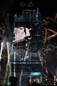 Concert de Jarre à Monaco en 2011