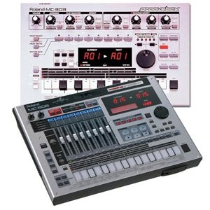 Roland Groovebox MC303 (1996) / MC808 (2007)