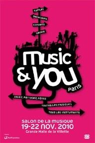 Jarre ambassadeur de Music and You
