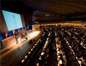 Discours de jean Michel Jarre au siège de l'UNESCO