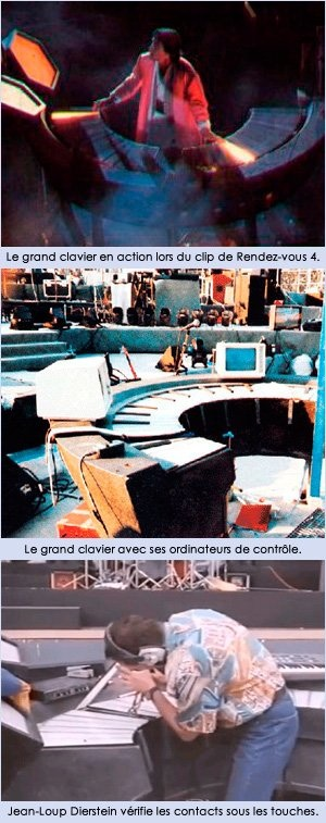 Le grand clavier lumineux LAG (1986)