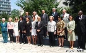 Réunion des ambassadeurs de l'UNESCO