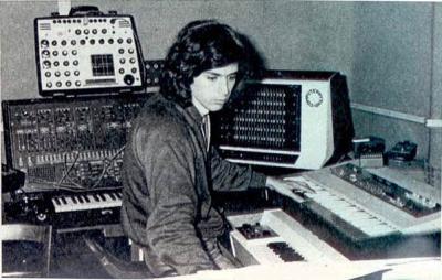 Le studio de Jarre à l'époque d'Oxygène