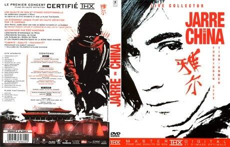 Jarre in China, édition collector 2 DVD + 1 CD (2004)