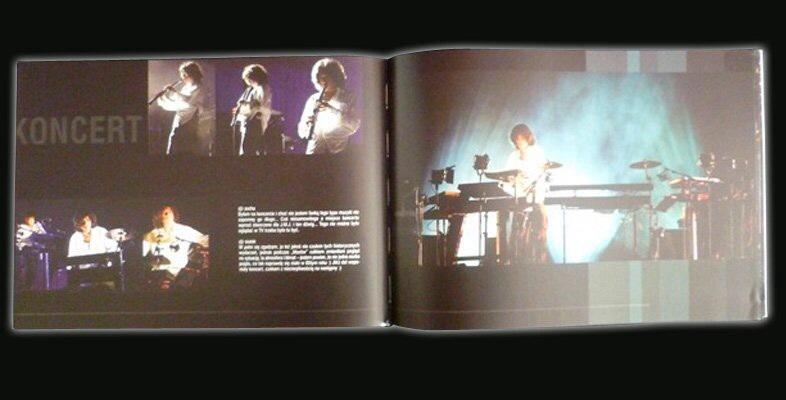 """Livre """"jean Michel jarre, live in Gdansk"""" (2006)"""