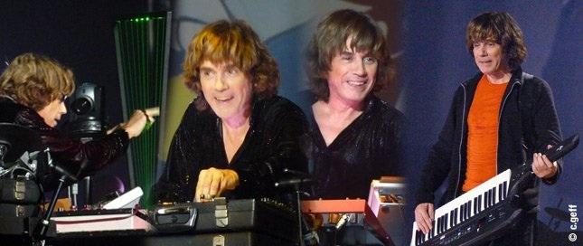 La tournée 2011 de Jean Michel Jarre