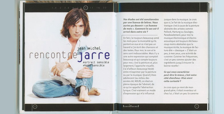 Jean Michel jarre, portrait sensible