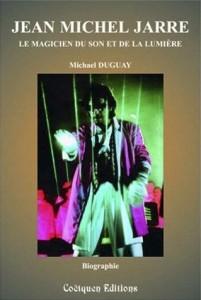 Couverture du livre jean michel jarre, magicien du son et de la lumière