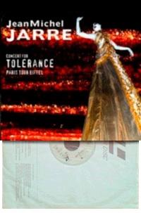 Laserdisc du Concert pour la Tolérance