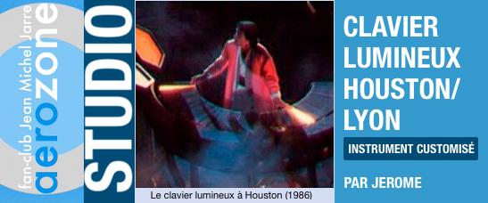 Clavier lumineux houston lyon