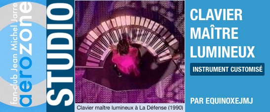 Le grand clavier maître version La Défense (1990-1995)