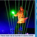 Les harpes laser
