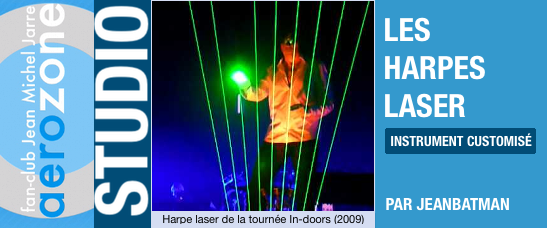 Les harpes lasers