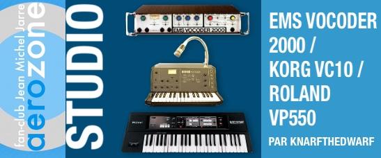 EMS Vocoder 2000 / Korg VC10 / Roland VP550