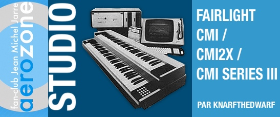 Fairlight CMI - 2x cmi series 3