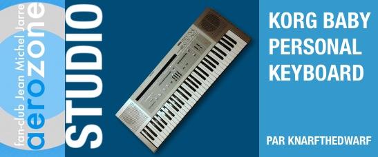 Korg Baby Personal Keyboard (1983)