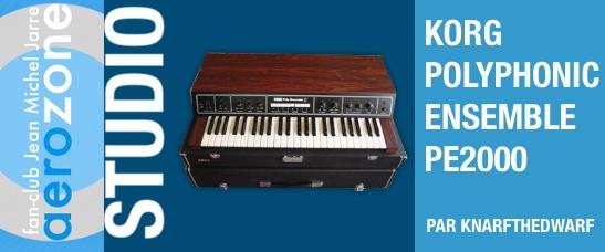 Korg Polyphonic Ensemble PE2000 (1976)