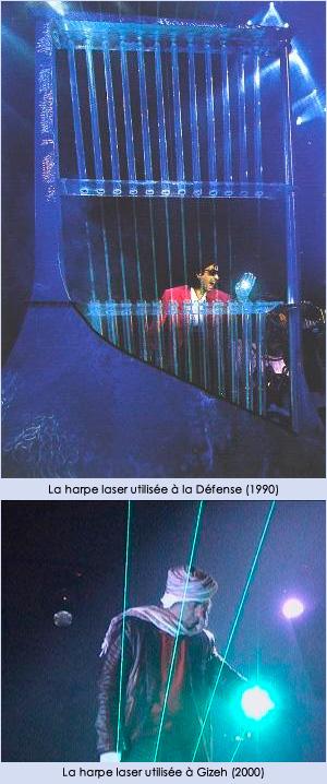 Harpe laser
