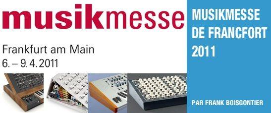 Musikmesse de Francfort 2011