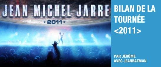 Bilan de la tournée 2011