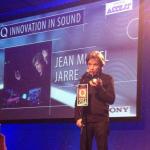 Jarre lauréat d'un prix du magazine Q à Londres