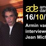 Le 16 octobre, Jarre sera interviewé dans le cadre de l'Amsterdam dance Event