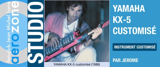 Yamaha KX-5 customisé (1986)