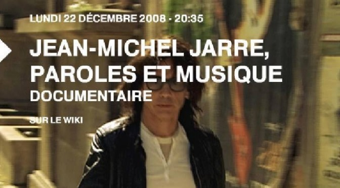 Jean Michel Jarre, Paroles et Musique 2008