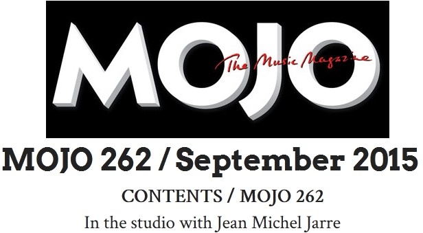 Interview à Mojo Magazine (septembre 2015)