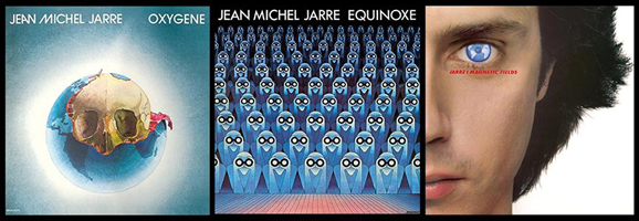 La trilogie Oxygène / Equinoxe / Chants magnétiques ré éditée sur vinyl le 9 octobre 2015
