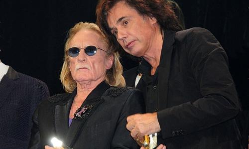 """Jean-Michel Jarre et Christophe : nouvelle collaboration 40 ans après """"Les mots bleus"""""""