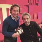 """Jarre invité de Stéphane Bern sur RTL dans """"A la bonne heure"""" (15/10/2015)"""