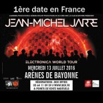 JMJ en concert aux Arènes de Bayonne le 13/07/2016