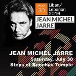 JMJ en concert au Festival Baalbeck (Liban) le 30/07/2016