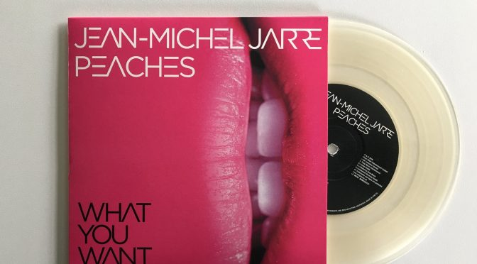 Le vinyle de 'What you want' avec Peaches tiré à 1000 exemplaires
