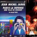 Reportage sur les coulisses du concert de La Défense (1990)
