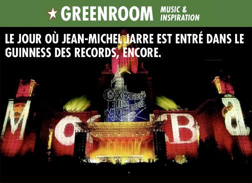 Jarre raconte le concert de Moscou en 1997 à Greenroom