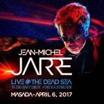 Jarre en concert à Massada en Israël le 06/04/2017