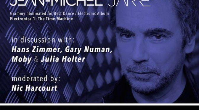 Jean-Michel Jarre, Moby, Holter, Numan et Hans Zimmer en interview le 9/02/2017