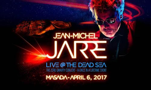 Trax: pourquoi Jarre a fait un gigantesque concert sur le bord de la Mer Morte