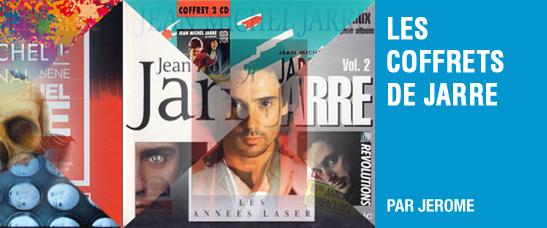 Les coffrets de la discographie de Jean-Michel Jarre