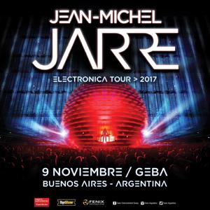 Tournée sud-américaine de Jean-Michel Jarre (Mars 2018)
